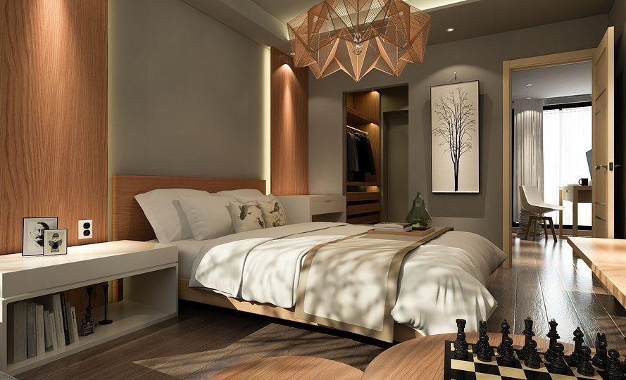 Κρεββάτι σαν σε ξενοδοχείο